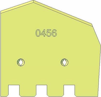 Лезвие вправо Grimme 089.00456 замена