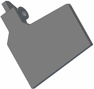 Klapka lemiesza 006.00726 P Grimme zamiennik