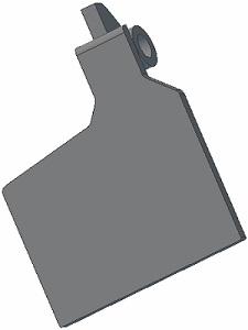 Klapka lemiesza 001.00641 L Grimme zamiennik
