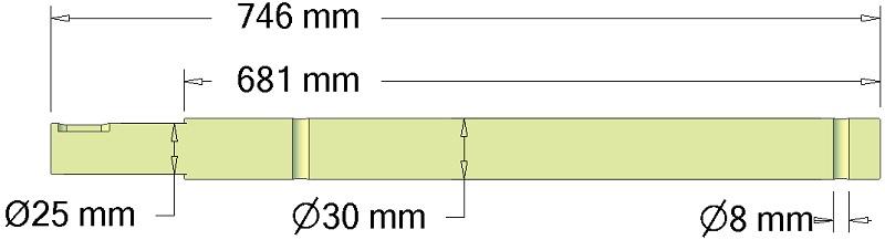 Wałek 037.02264 Grimme