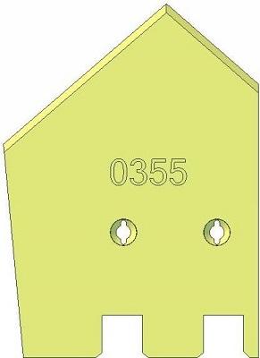 Lemiesz lewy Grimme 089.00355 zamiennik