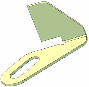 Zgarniacz metalowy 015.11860