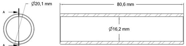 Tulejka redukcyjna 110091104 Ropa